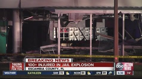 Image of News Show talking about the Explosion
