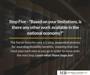 Step Five to getting social security disability